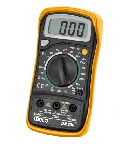 INGCO TOOLS Digitalni multimetar DM200