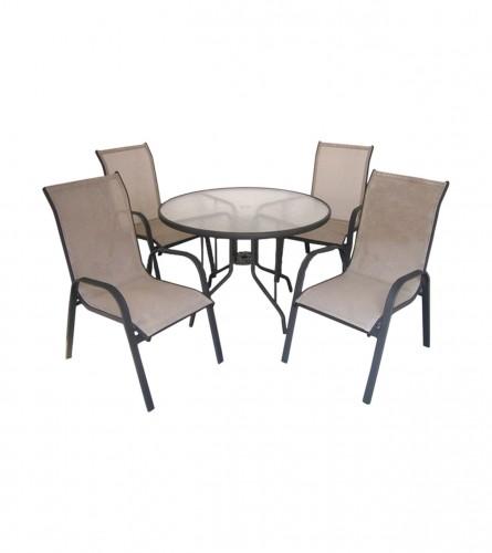 MASTER Sto + 4 stolice 1214511