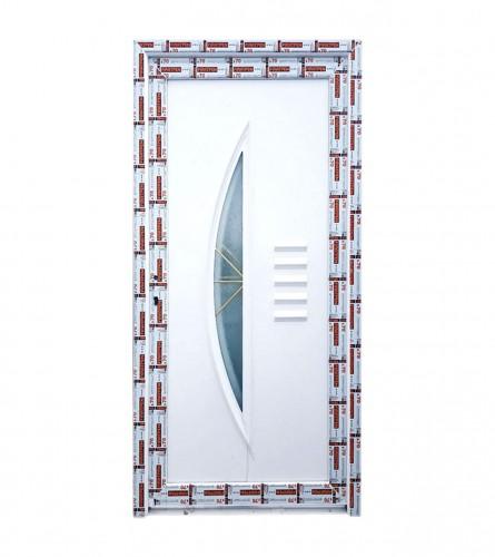 Vrata PVC ulazna D-PANEL 100x210cm L+D