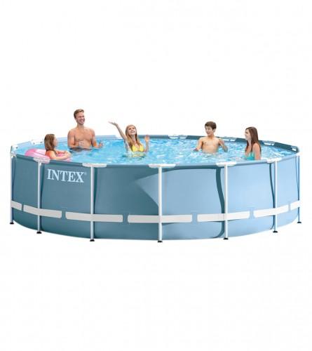 INTEX Bazen sa metalnim okvirom 4,57x0,84 m