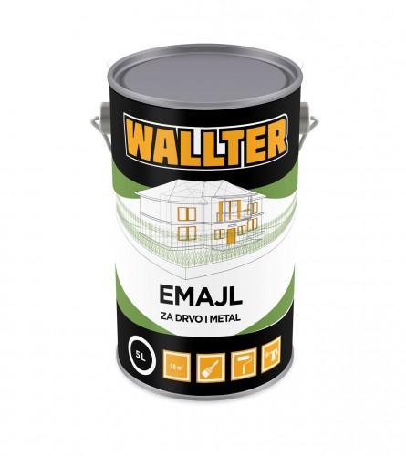 WALLTER Emajl za drvo i metal 5L
