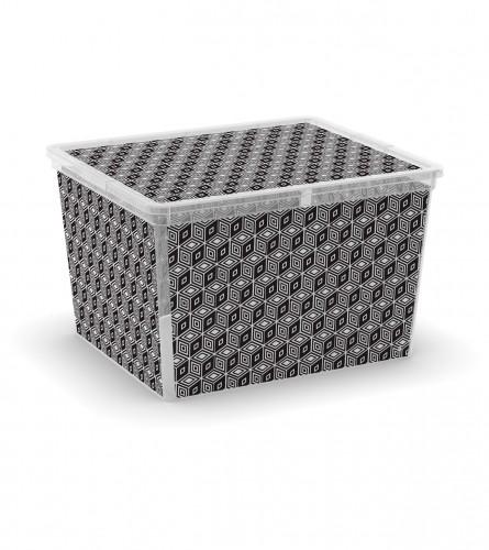Kutija PVC GEOMETRIC CUBE