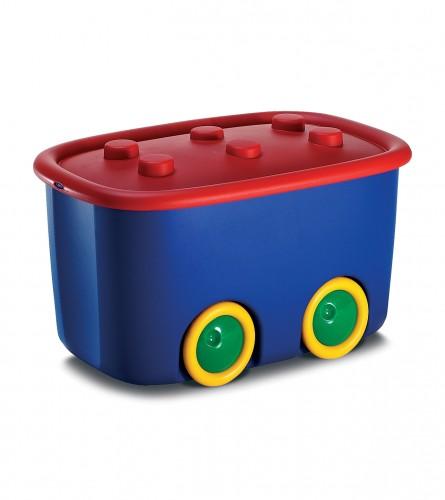 Kutija za igračke BLUE/RED