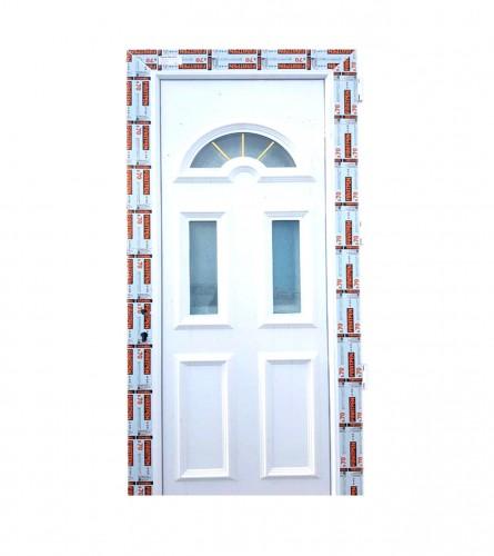FIRATPEN Vrata PVC ulazna 110x210cm ukrasni GL.PANEL