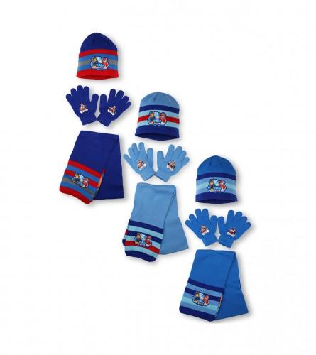 SETINO Set kapa, šal i rukavice S 780-348 PAW PATROL