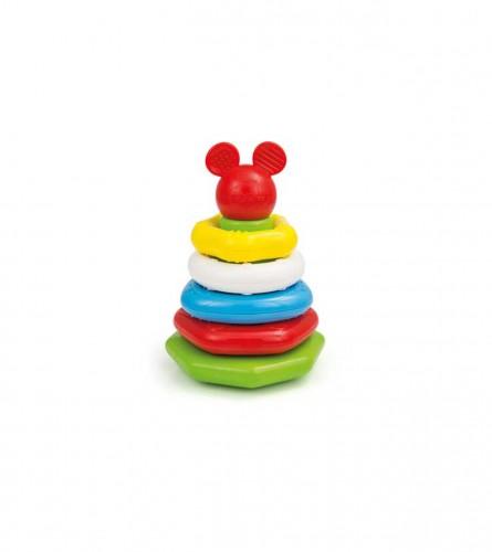 CLEMENTONI Prstenovi za slaganje Mickey