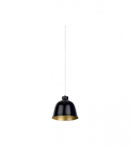 VITO Lampa viseća E27 60W RIND-4 4101940 Crna