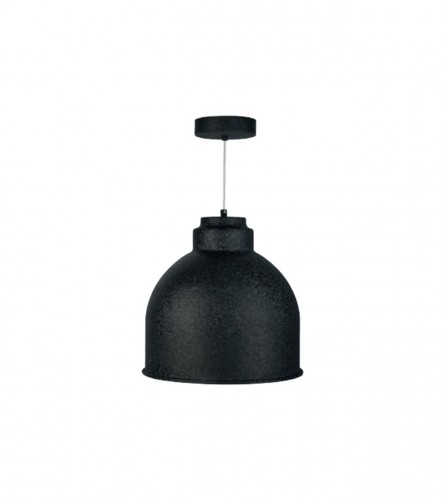 VITO Lampa viseća E27 60W MOLDE 4102140 Crna