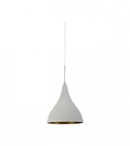 VITO Lampa viseća E27 60W RIND-5 4102190 Bijela/zlatna