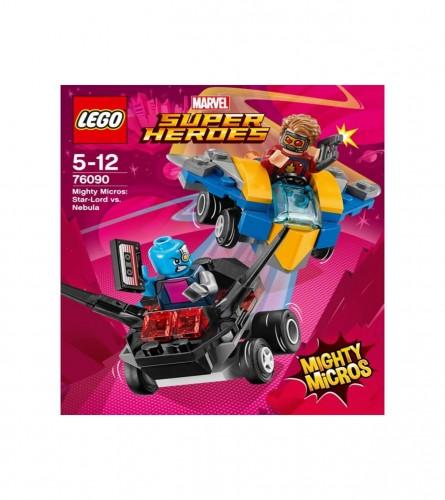LEGO Igrača Mighty Micros: Star-Lord protiv Nebula