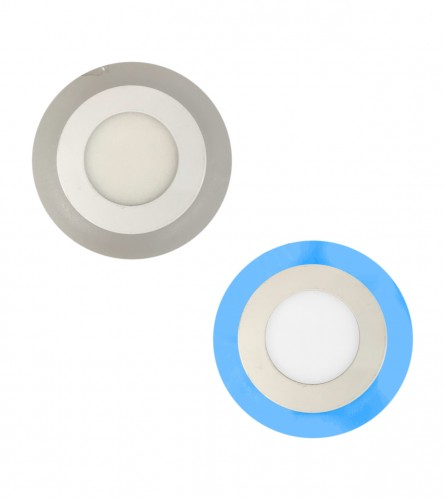 MASTER Lampa LED ugradna 3+3W fi.105mm OS-PL028