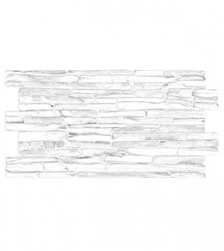 GRACE Panel 3D dekor kvarcni kamen sivi