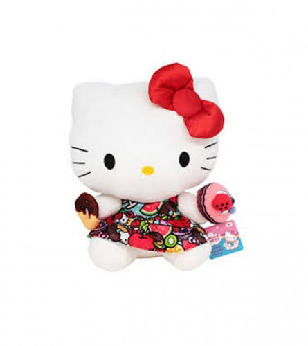 Igračka plišana Hello Kitty crvena