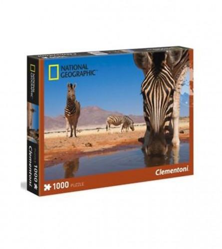 CLEMENTONI Puzzle 1000kom zebra 39356