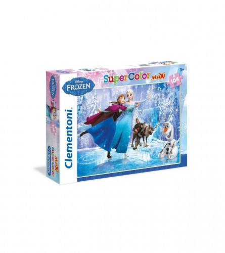 CLEMENTONI Puzzle 104kom Frozen maxi 23679