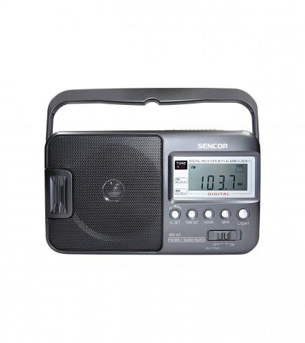 SENCOR Radio budilnik prijenosni SRD 207