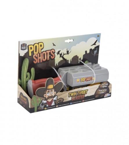 Igračka puška sa lopaticama POP SHOTS R01-0262