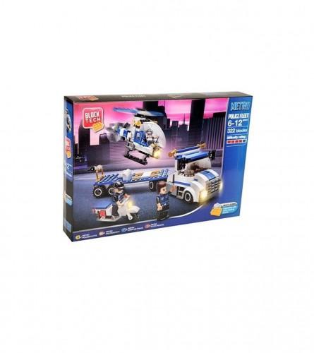 Igračka kocke za slaganje policijska flota 322/1 26-0348