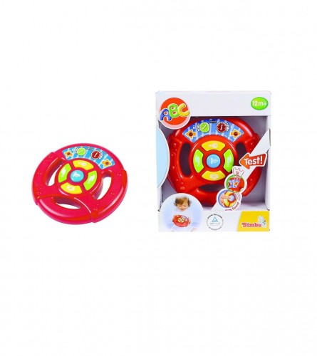 MONDO Baby volan zvuk i svjetlo 15,5 cm 104019636