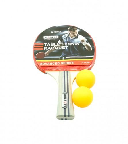 MASTER Reket za stolni tenis + 2 loptice JY-PR200
