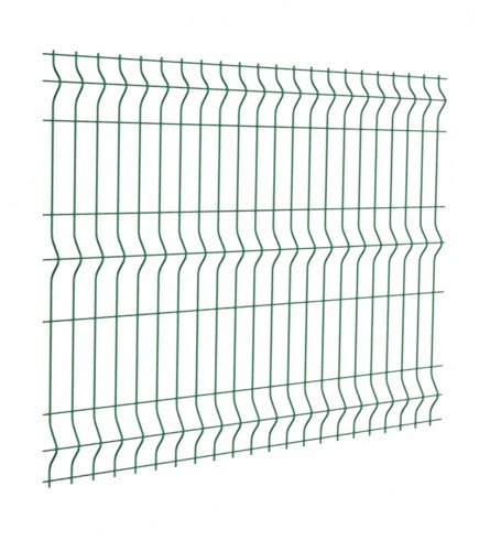 Ograda PVC 1500x2000x4mm zelena 6005