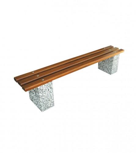 BOSSIN Klupa betonska Narona bez naslona