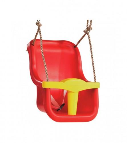 Ljuljačka dječija PVC crvena 131001001001
