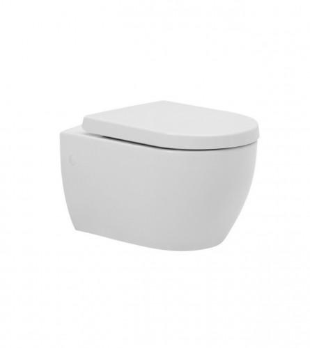 TURKUAZ WC školjka viseća City + daska sa bide funkcijom 18700