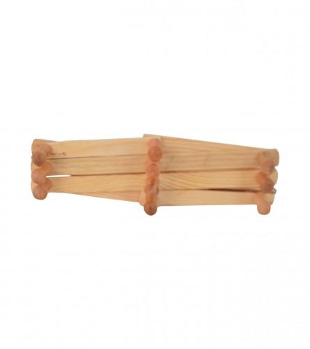 MASTER Vječalica drvena 10 kuka 12180346