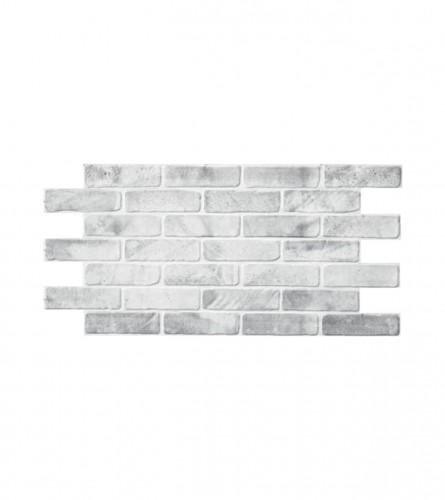 GRACE 3D panel PVC cigla siva