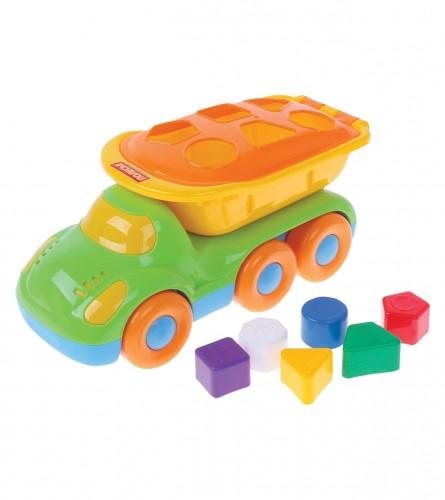 MASTER Igračka kamion BUDDY sa geometrijskim oblicima 48363