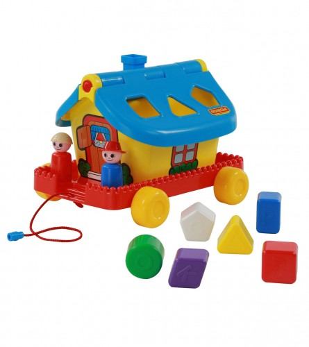 POLESIE Igračka kućica edukativna sa oblicima 56443