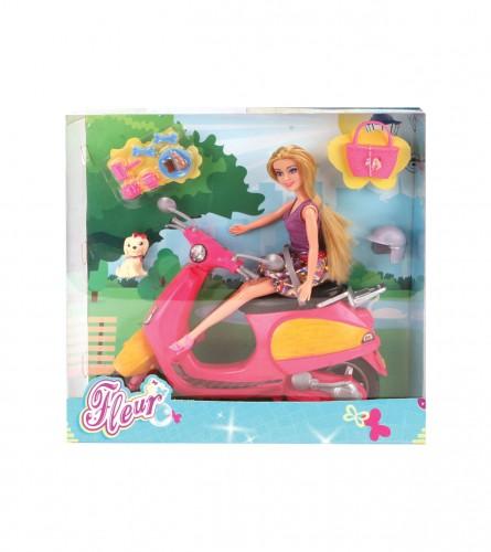 Igračka lutka fleur na skuteru 571-6624