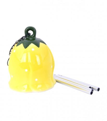 KOOISTRA Zvonce keramičko ukrasno žuto