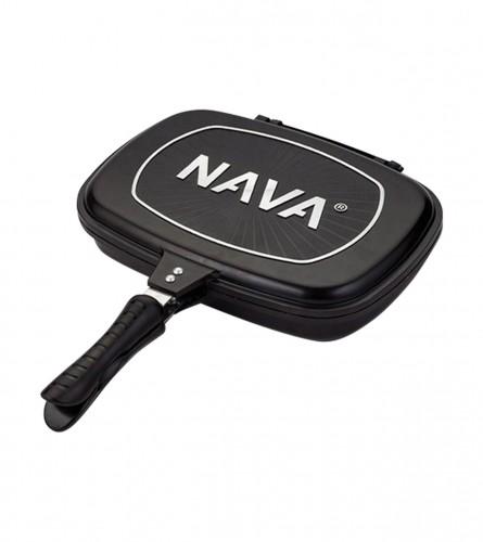 NAVA Tava grill sa poklopcem 10-142-003