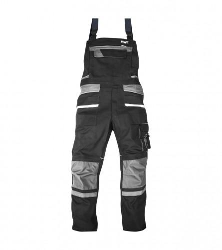 W.K.TEX. Treger hlače crne VEL.52 85014-90-52