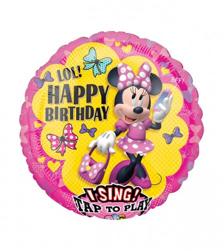 MASTER Balon Minnie Mouse 71x71xcm 3632201