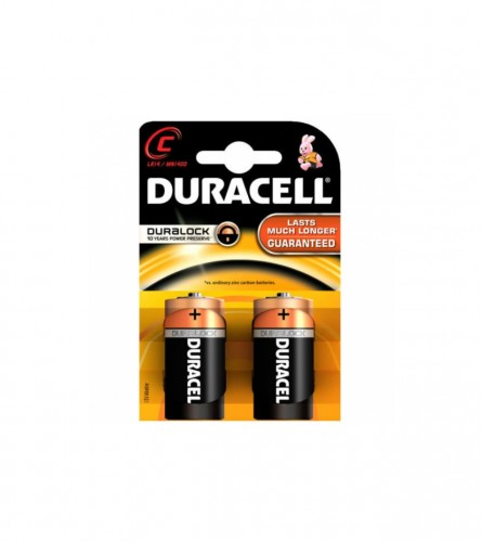 DURACELL Baterije BSC C-LR14 2/1 Duracell S3514
