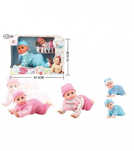 MASTER Igračka lutka CLEVER BABY JAA0397