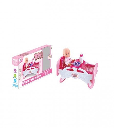 Igračka lutka i krevetac JR26872