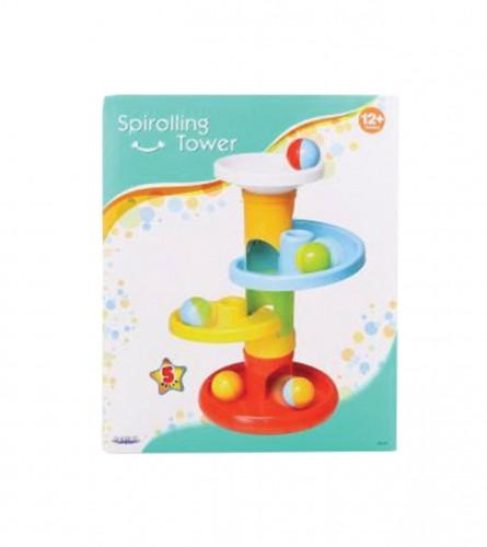 Igračka baby spiralni toranj PVC 81531