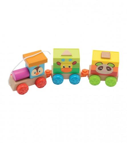 MASTER Igračka baby slagalica lokomotivna 81601