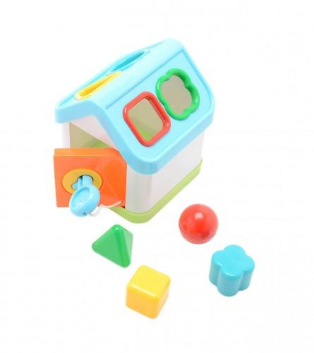 MASTER Igračka baby kućica sa geometrijskim tijelima 81605