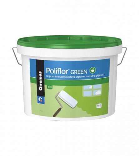 HELIOS Poliflor green unutarnja boja 2l