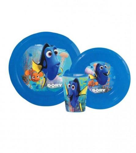 Disney Set za jelo 3/1 ribica Dory PVC 84510