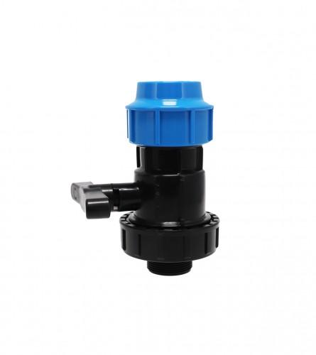 MASTER Ventil poluspojnical V/N PVC fi50x1-1/2 9003