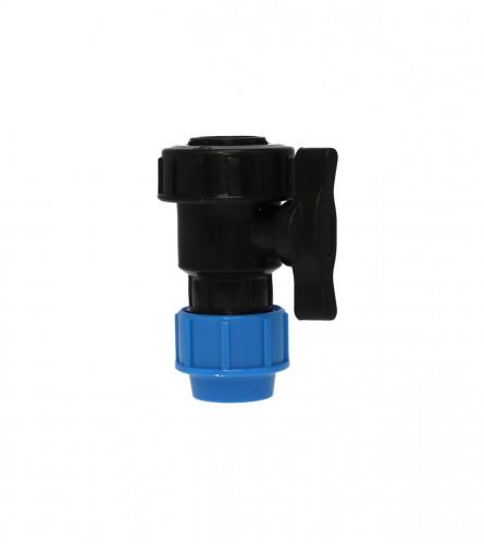 MASTER Ventil poluspojnica U/N PVC fi20mm 9002
