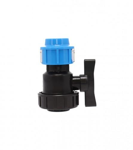 MASTER Ventil poluspojnica U/N PVC fi25mm 9002