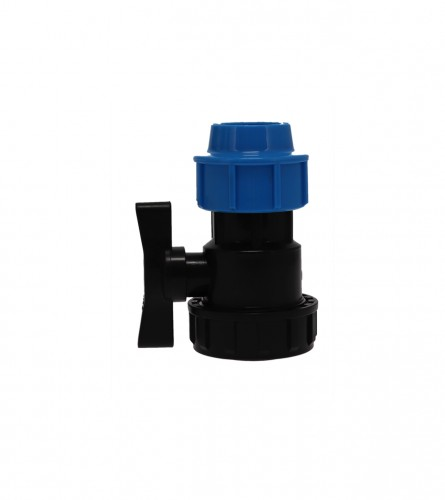 MASTER Ventil poluspojnica U/N PVC fi32mm 9002