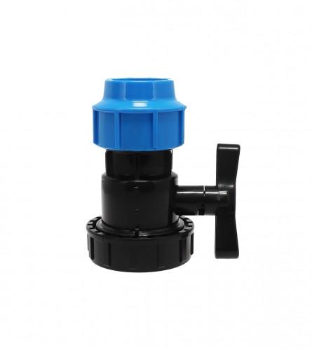 MASTER Ventil poluspojnica U/N PVC fi50x1-1/2 9002